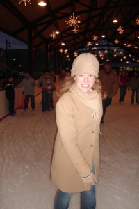 Ice skating, December 2006
