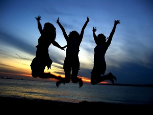bigstockphoto_Three_Girl_Friends_Celebrating_212140